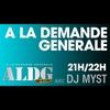 Logo de l'émission A La Demande Générale