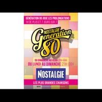 Logo of show Nostalgie Génération 80