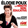 Logo of show La minute non-éducative d'Elodie Poux