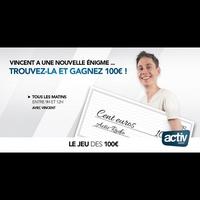 Logo of show Le jeu des 100€
