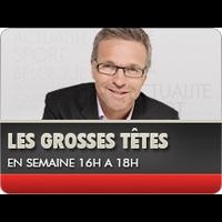Logo of show Les Grosses têtes