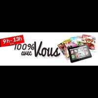 Logo de l'émission 100% avec Vous