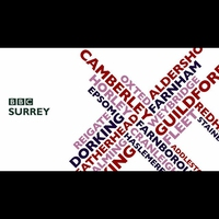 Logo of show BBC Surrey Drive at 5