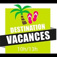Logo de l'émission Destination Vacances