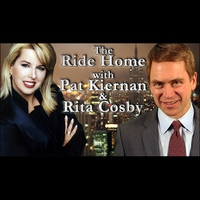 Logo of show The Ride Home with Pat Kiernan & Rita Cosby