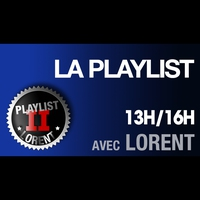 Logo de l'émission La Playlist de Lorent