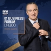 Logo of show 01 Business Forum - L'Hebdo