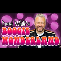 Logo of show David White's Boogie Wonderland