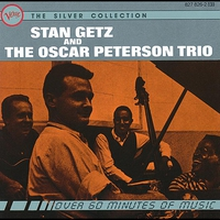 Cover of the track Stan Getz and The Oscar Peterson Trio