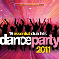 Cover of the track Dance Party 2011 (Mixed by The Happy Boys)