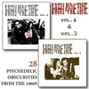 Cover of the album High All the Time Volumes 1 & 2. 1960s Psychedelic Obscurities - Remastered