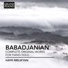 Couverture de l'album Babadjanian: Complete Works for Piano Solo