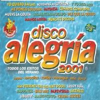 Cover of the track Disco Alegría 2001