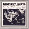 Couverture de l'album Kentucky Gospel (1927-1928)