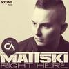 Couverture de l'album Right Here (feat. Cat Alex) - Single