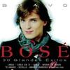 Couverture de l'album Bravo Bosé: 30 grandes éxitos