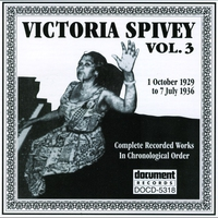 Cover of the track Victoria Spivey Vol. 1 1926-1927