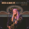 Couverture de l'album Gregg Allman Live: Back To Macon, GA