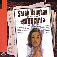 Couverture du titre Sarah Vaughan Sings the Mancini Songbook