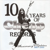 Couverture de l'album 10 Years of Cheap Records - The Anniversary Compilation 1993-2003