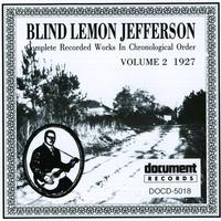 Cover of the track Blind Lemon Jefferson Vol. 2 (1927)