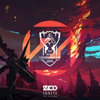 Cover of the track Ignite (2016 League of Legends World Championship) - Single