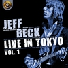 Cover of the album Jeff Beck Live in Tokyo 1999, Vol. 1