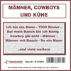 Cover of the album Männer, Cowboys und Kühe