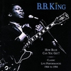 Cover of the album How Blue Can You Get?: Classic Live Performances, 1964-1994