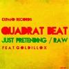 Cover of the album Quadrat Beat - Just Pretending / RAW - Single