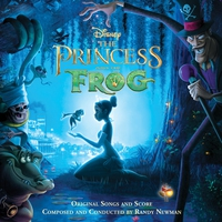 Cover of the track The Princess and the Frog (Original Songs and Score)