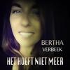 Couverture de l'album Het Hoeft Niet Meer - Single