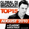 Cover of the album Global DJ Broadcast Top 15: August 2011 (Including Classic Bonus Track)