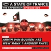 Cover of the album A State of Trance 600 (Mixed by Armin van Buuren, ATB, W&W, Rank 1 & Andrew Rayel)