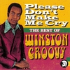 Couverture de l'album Please Don't Make Me Cry - The Best of Winston Groovy