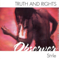 Couverture du titre Truth & Rights Observer Style