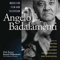 Couverture du titre Angelo Badalamenti: Music For Film and Television