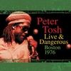 Couverture de l'album Peter Tosh Live & Dangerous: Boston 1976