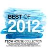 Couverture de l'album Best of 2012 - Tech House Collection