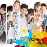 Couverture du titre Wake up! - Single
