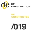 Cover of the album Deconstruction Reconstructed 019 - EP
