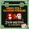 Cover of the album Andres Calamaro & Fito & Fitipaldis: 2 Son Multitud (El Concierto)