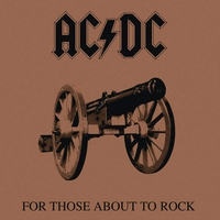 Cover of the track For Those About to Rock (We Salute You)