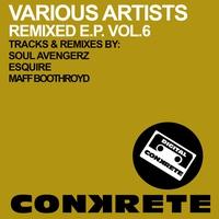 Cover of the track Conkrete Remixed E.P. Vol.6 - Single