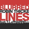 Cover of the track Blurred Lines (No Rap)