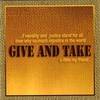 Couverture de l'album Give and Take