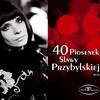 Cover of the album 40 Piosenek Sławy Przybylskiej CD 1