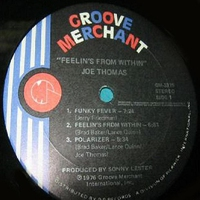 Cover of the track Feelin's from Within (Vinyl) [Remastered]