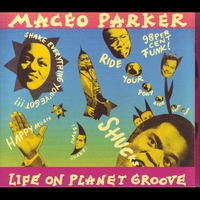 Cover of the track Life On Planet Groove (Live)