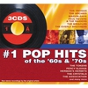 Cover of the album #1 Pop Hits of the 60s & 70s (Digital Version) [Re-Recorded Versions]